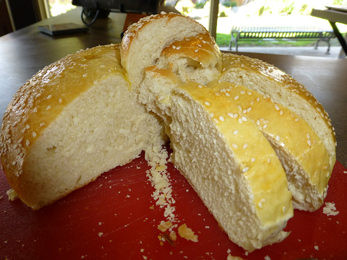 Armenian Olive Oil Bread